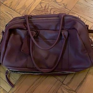 NWT Sole Society Mason oxblood bag